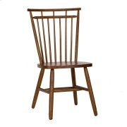 Spindle Back Side Chair - Tobacco Product Image