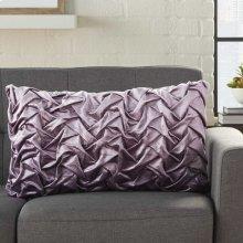 "Life Styles L0064 Lavender 14"" X 24"" Throw Pillows"