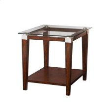 Solitaire Rectangular End Table