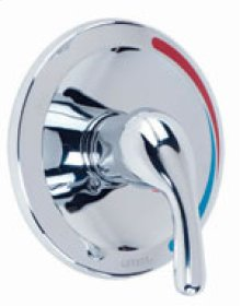 Chrome Maxwell® Single Handle Flange Only Trim Kit
