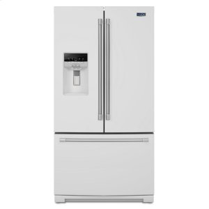Maytag36-inch Wide French Door Refrigerator with PowerCold Feature - 27 cu. ft.