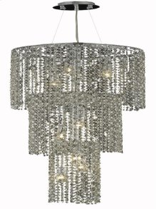 1298 Moda Collection Large Hanging Fixture Chrome Finish