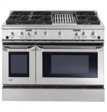 "GE Monogram® 48"" Dual-Fuel Professional Range with 6 Burners and Grill (Liquid Propane)"