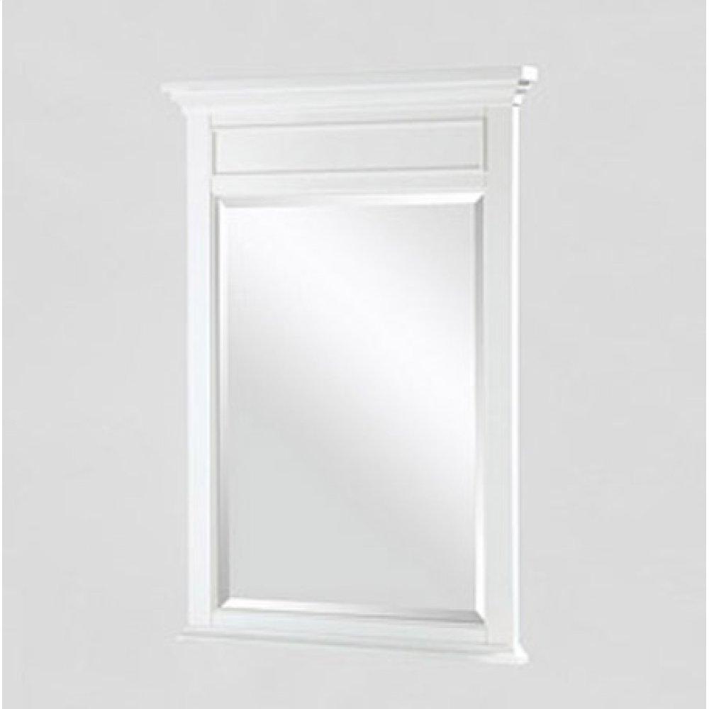 "Framingham 24"" Mirror - Polar White"