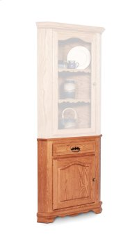 Classic Closed Corner Hutch Base, Small Product Image