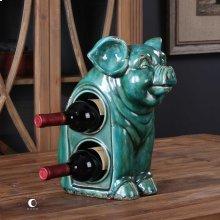 Oink Wine Holder