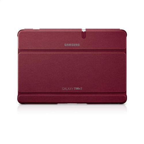 Galaxy Tab 2 10.1 Magnetic Book Cover, Red