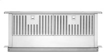 "36"" Retractable Downdraft System, 600 CFM - Stainless Steel"