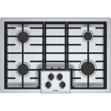 """30"""" Gas Cooktop 500 Series - Stainless Steel (Scratch & Dent)"""
