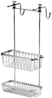 Chrome Plate Adjustable shower caddy