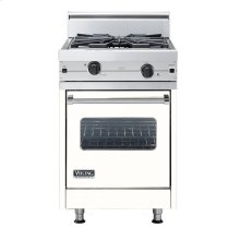"Cotton White 24"" Wok/Cooker Companion Range - VGIC (24"" wide range with wok/cooker, single oven)"