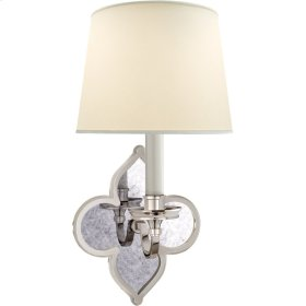 Visual Comfort AH2040PN-PL Alexa Hampton Lana 1 Light 6 inch Polished Nickel Decorative Wall Light