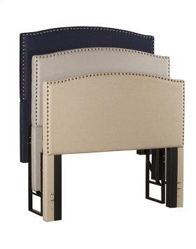 Metal Display Rack - Fit for 3 Headboards - Black