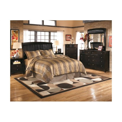 Harmony - Dark Brown 2 Piece Bed Set (King)