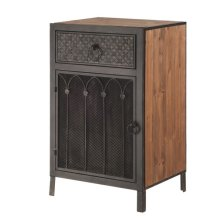 Toscana Side Cabinet with Drawer.