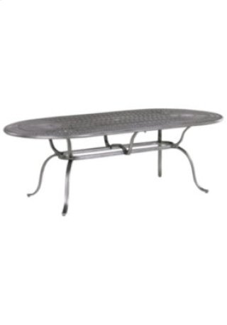 "Spectrum 85"" x 43"" Oval KD Umbrella Table"
