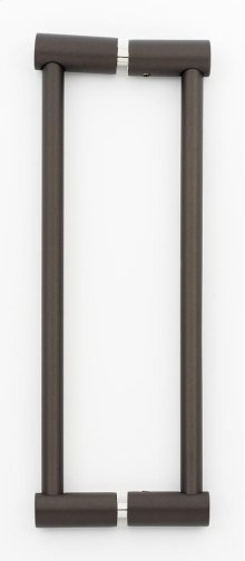 Contemporary I Back-to-Back Pull G715-8 - Chocolate Bronze