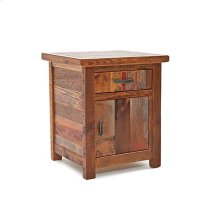 Back To the Barn - 1 Drawer 1 Door Nightstand - (hinged Right)