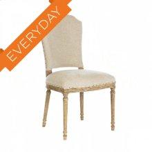 Chelsea Upholstered Barnwood Dining Chair