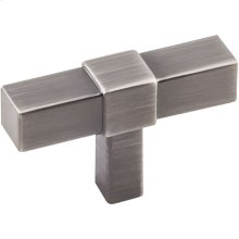 "2"" Overall Length Cabinet ""T"" Knob."