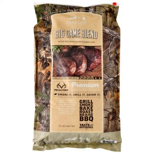 Traeger GrillsRealtree Big Game Blend Wood Pellets