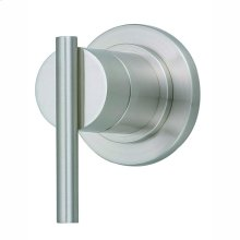 Brushed Nickel Parma® Volume Control or Diverter Valve Trim Kit