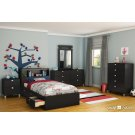 Storage Bed and Bookcase Headboard Set - 39'' Product Image