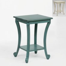 Claire Chairside Table Aqua