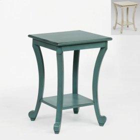 Claire Chairside Table Aqua