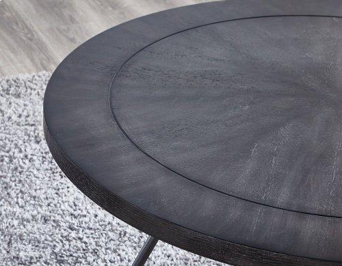 """Derek Round Cocktail Table 36""""x36""""x18"""" (30mm thickness)"""