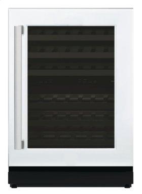 PREMIUM WINE STORAGE - GREAT PRICE! - MINOR REPAIR MADE TO DOOR LATCH - 24 3/16'' Glass Door Wine Reserve Right Hinge Custom Panel Ready T24UW800RP / 6 MONTH WARRANTY