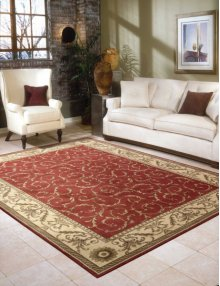 Somerset St02 Red Rectangle Rug 3'6'' X 5'6''
