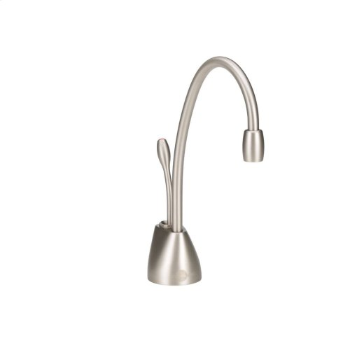 Indulge Contemporary Hot Only Faucet (F-GN1100-Satin Nickel)
