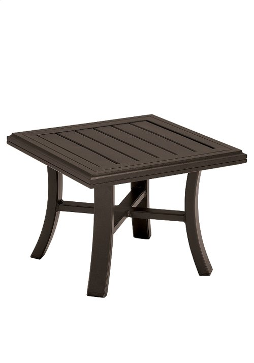 "Banchetto 24"" Square Tea Table"