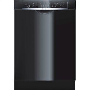 Bosch23 5/8 '' Recessed Handle Dishwasher Ascenta- Black SHE3AR56UC