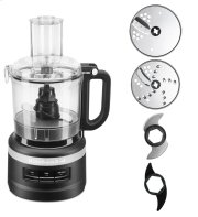 7 Cup Food Processor Plus - Black Matte Product Image