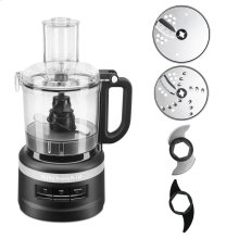 7 Cup Food Processor Plus - Black Matte