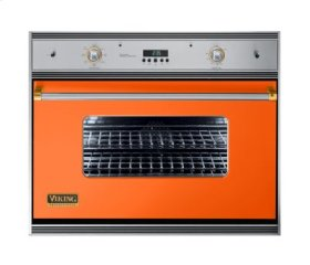 "36"" Single Electric Oven, Brass Accent"