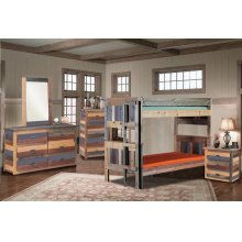 MC13  Twin/Twin Stackable Bunk Bed