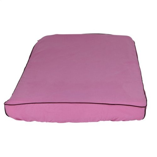 Mattress Cover (Twin) : Hot Pink/Brown