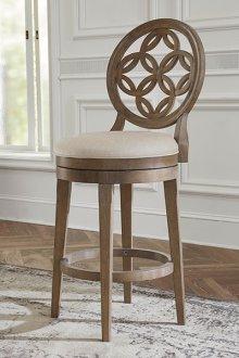 Savona Counter Stool With Circle Back Design