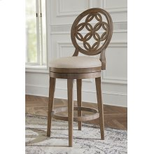 Savona Counter Stool With Circle Back Design