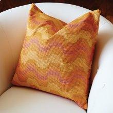 Zig Zag Pillow-Orange