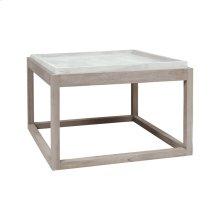 Concrete Outdoor Parsons Table