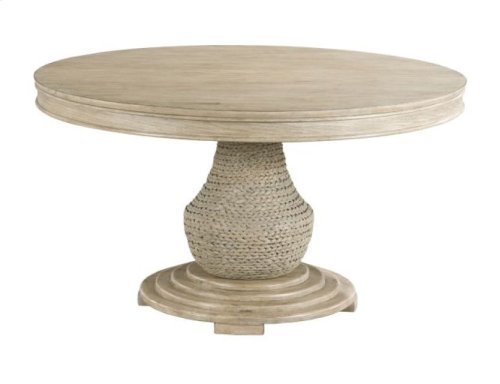 Largo Round Dining Table Complete