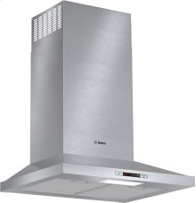"300 Series 24"" Pyramid Canopy Chimney Hood, 300 CFM, ENERGY STAR®, HCP34E51UC, Stainless Steel"