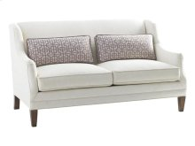 Sofia Leather Love Seat