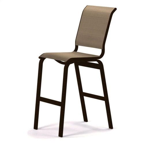 Aruba Sling Bar Height Armless Cafe Chair