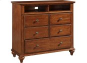 Hayden Place Media Chest, Light-Cherry Finish