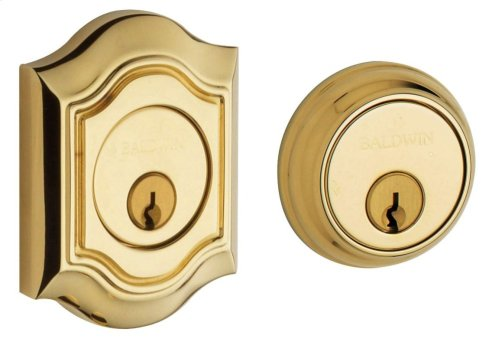 Non-Lacquered Brass Bethpage Deadbolt